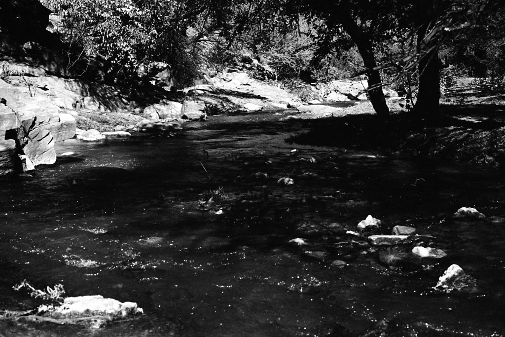 River. Okahandja.